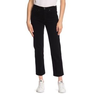 NWT Rag & bone black solid straight leg jeans